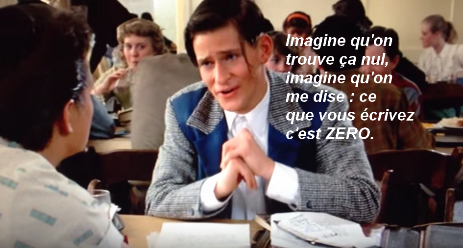 Georges Mcfly - avec citation
